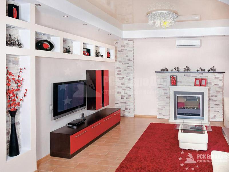 Ремонт квартиры-студии под ключ в СПб -